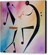 Tambourine Jam Canvas Print by Ikahl Beckford