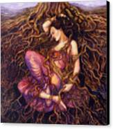 Tangled Canvas Print by Janet Chui