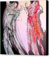 Tango Night Canvas Print