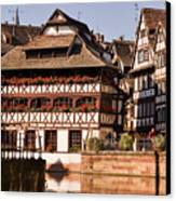 Tanners House Strasbourg Canvas Print by Louise Heusinkveld
