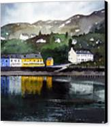 Tarbert Reflections Canvas Print