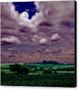 Tarkio Moon Canvas Print