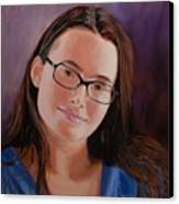 Taryn Snow Canvas Print