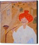 Tau Canvas Print