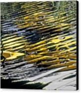 Taxi Abstract Canvas Print by Tony Cordoza