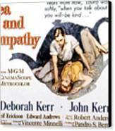 Tea And Sympathy, John Kerr, Deborah Canvas Print by Everett