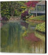 Tea House Canvas Print by Don Perino