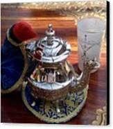 Tea Time Canvas Print by Valia Bradshaw