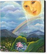 Tears Of Devotion Canvas Print