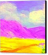 Technicolor Desert Canvas Print