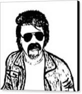 Ted - The Strange Man Canvas Print