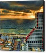 Tel Aviv Lego Canvas Print