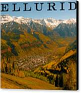 Telluride Colorado Canvas Print by David Lee Thompson