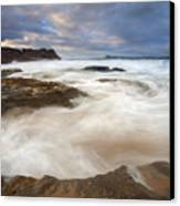 Tempestuous Sea Canvas Print