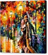 Tempter Canvas Print by Leonid Afremov