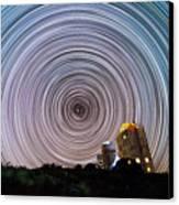 Tenerife Star Trails Canvas Print