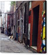 Tennessee Alley Canvas Print by Joyce Kimble Smith