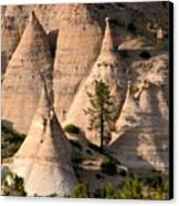 Tent Rocks Wilderness Canvas Print