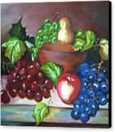 Terra Cotta Bowl Canvas Print