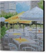 Terrace Cafe Canvas Print