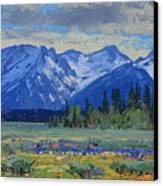 Teton Summer Canvas Print