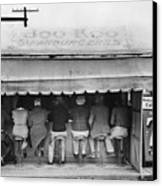Texas: Luncheonette, 1939 Canvas Print by Granger