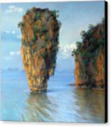 Thai Landscape Canvas Print