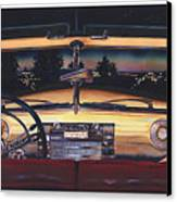 That Night On Walters Hill Canvas Print
