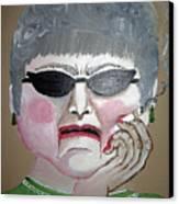 That Woman Canvas Print