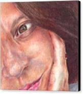 That's Me  Canvas Print by Melissa J Szymanski