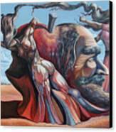 The Adam-eve Delusion Canvas Print