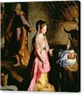 The Adoration Of The Child Canvas Print