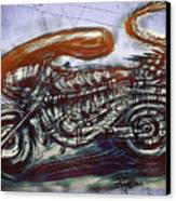 The Alien Bike Canvas Print