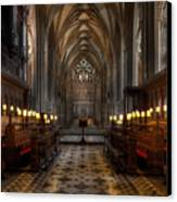 The Altar Canvas Print by Adrian Evans