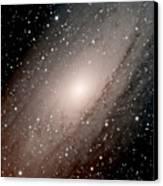 The Andromeda Galaxy Close  Up Canvas Print