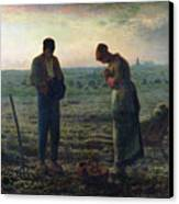 The Angelus Canvas Print