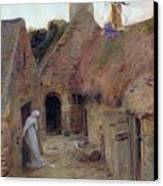 The Annunciation Canvas Print by Luc Oliver Merson