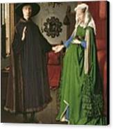 The Arnolfini Marriage Canvas Print
