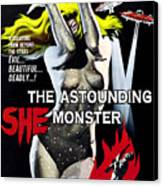 The Astounding She-monster, 1-sheet Canvas Print