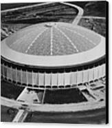 The Astrodome Aka The Eighth Wonder Canvas Print by Everett