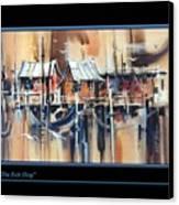 The Bait Shop Canvas Print