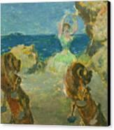 The Ballet Dancer Canvas Print by Edgar Degas
