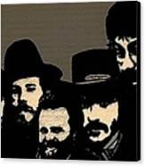 The Band Canvas Print by Jeff DOttavio