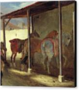 The Barn Of Marechal-ferrant Canvas Print
