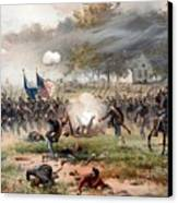 The Battle Of Antietam Canvas Print