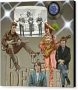 The Beatles Canvas Print by Marshall Robinson