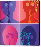 The Beatles No.10 Canvas Print by Caio Caldas