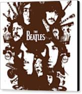 The Beatles No.15 Canvas Print by Caio Caldas