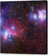 The Belt Stars Of Orion Canvas Print
