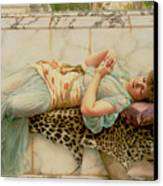 The Betrothed Canvas Print by John William Godward